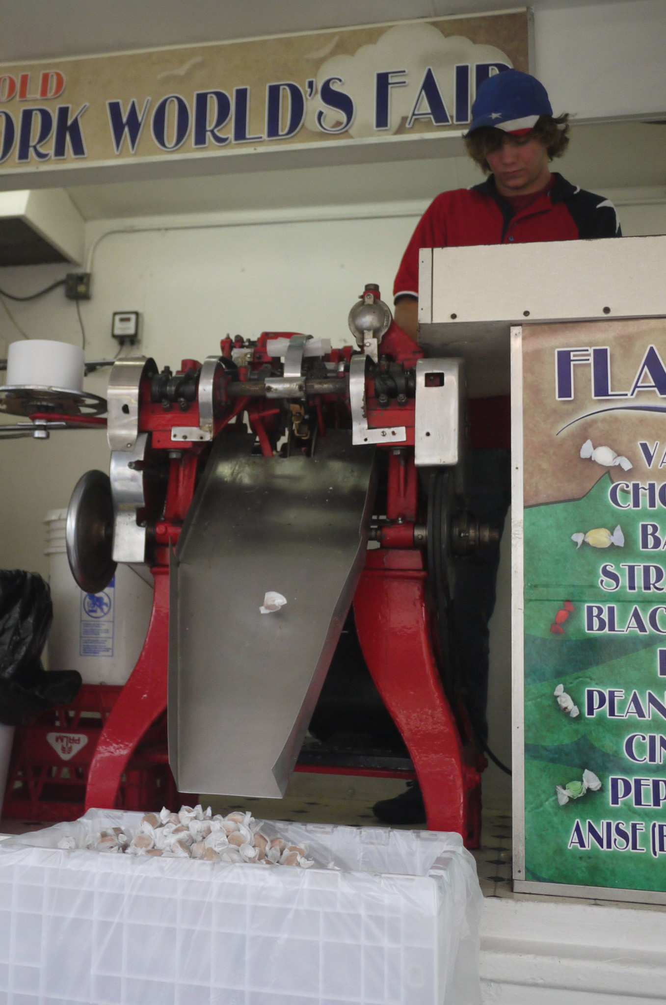salt water taffy machine
